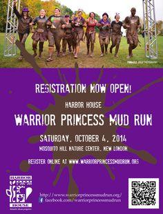Registration Now Open! Warrior Princess Mud Run 10-04-2014