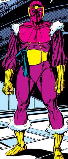 Baron Zemo as drawn by John Buscema (Pencils) and Tom Palmer (Inks)