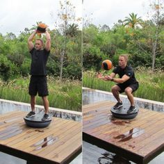 Medicine Ball Slam - Top Fitness Trainers Reveal Their Best Exercises Right Now - Shape Magazine