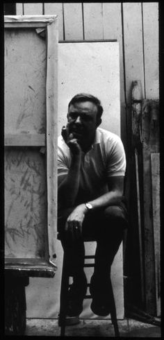 Robert Motherwell - I fell in love with abstract art the first time I saw a Motherwell.