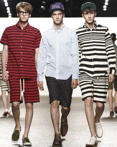 John Hein &Matthew Bell & Henry Kitcher | Mark McNairy New Amsterdam Spring/Summer 2015 | New York Fashion Week