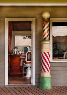 """""""Barber - I need a hair cut"""" by Mike Savad"""