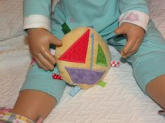 SAIL BOAT Special Edition Ribbon Cookie Toy by CoffeeKidsNDolls, $4.25