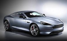 The 2013 Aston Martin DB9 has an extremely dynamic shape with a rounded front, gradually sloping roof, steeply raked windshield and high truncated trail. Aston Martin will retain that shape