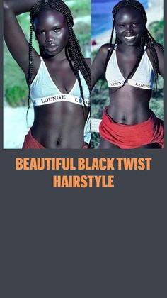 Beautiful African Women, African Beauty, Twist Hairstyles, Crochet Braids, Black Is Beautiful, Your Hair, Hair Care, Health Fitness, Hair Styles