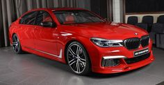 Imola Red BMW M760Li Could Brighten Up Anyone's Day #3D_Design #BMW