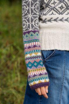 Fair Isle Knitting Patterns, Knitting Charts, Lace Knitting, Knitting Designs, Knit Patterns, Knitting Projects, Knit Crochet, Knitting Ideas, How To Start Knitting