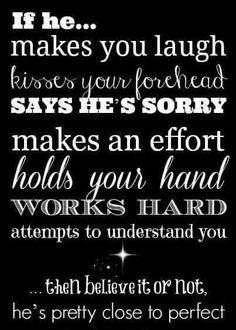 If he.....