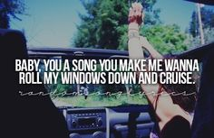 Im not going to say what song this is, because if you dont know this, you're not TRULY country ;)
