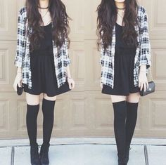 Grunge fashion - I really like this outfit.