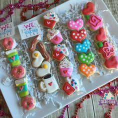 Mini Decorated Sugar Cookies