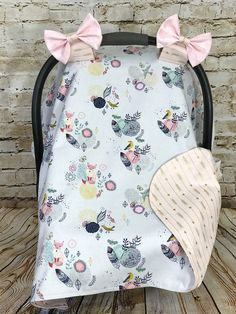 Handmade and stylish car seat cover! Car seat covers keep the germs