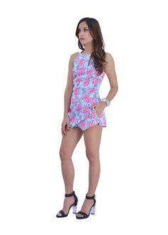 Tropical Flower Jumpsuit