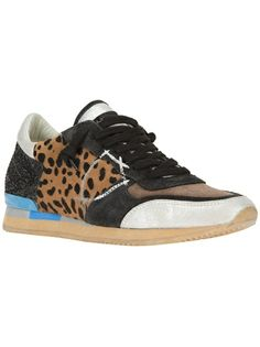 PHILIPPE MODEL Leopard Printed Trainer. An alternative to Golden Goose; slightly cheaper... I love them both!