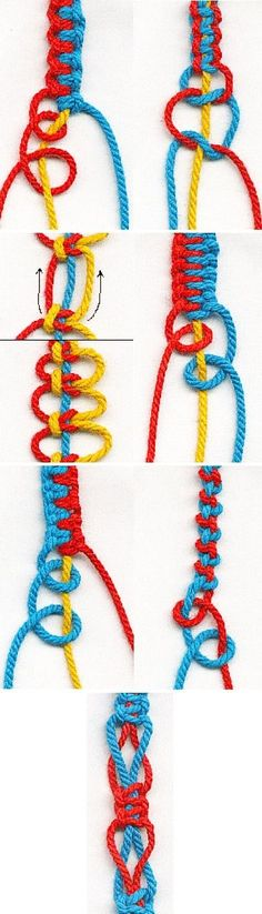 Tutorials and creative ideas for DIY handmade cord jewelry . - Tutorials and creative ideas for DIY handmade cord jewelry – Perles Fantaisies – # - Macrame Knots, Macrame Bracelets, Braclets Diy, Paracord Bracelets, Bracelet Crafts, Jewelry Crafts, Bracelet Knots, Knotted Bracelet, Jewelry Ideas
