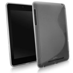 """BoxWave Google Nexus 7 DuoSuit - Slim-Fit Ultra Durable Google Nexus 7 TPU Case with Stylish """"S"""" Design on Back - Google Nexus 7 Cases and Covers (Frosted Clear) by BoxWave. $11.95. The DuoSuit is a form fitting Thermoplastic Polyurethane (TPU) case. The dual matte and glossy surfaces come together in an """"S"""" design across the back of the case.DuoSuit's purposeful """"S"""" design stands for its:Slim profileThe DuoSuit's ultra slim, form fitting design fits like a glove instead of a ..."""