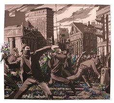 Banksy - more streetart at www.streetart.nl #banksy #streetart