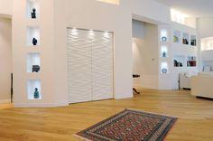 Attico di luce a Ravenna : Soggiorno moderno di Atelièr di progettazione