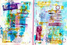 Art Journaling 101 for Kids, Teens andBeginners (on Daisy Yellow)