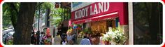 Enrich your heart and experience the fun and dreamy atmosphere at KIDDY LAND
