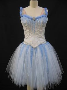 Ice and wind faerie for Turning Pointe Ballet Sewballet.com