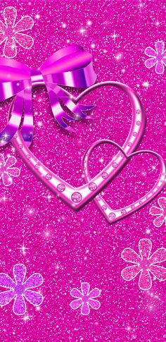 By Artist Unknown. Heart Iphone Wallpaper, Bling Wallpaper, Flowery Wallpaper, Pretty Phone Wallpaper, Flower Phone Wallpaper, Cute Patterns Wallpaper, Cellphone Wallpaper, Pretty Backgrounds, Pretty Wallpapers
