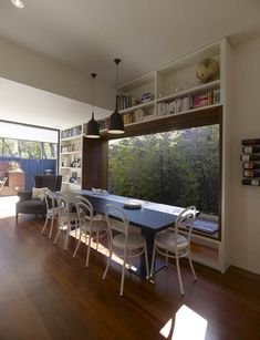 Andrew's House by Carter Williamson Architects; #frame, window seat reveal