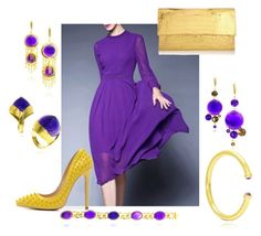 """""""papal Purple Glamour"""" by waynebrown on Polyvore featuring Posh Girl, Nancy Gonzalez, women's clothing, women's fashion, women, female, woman, misses and juniors"""