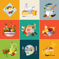 Vector icons on Behance