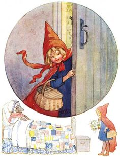 Little Red Riding Hood - Fairy Tales edited by Harry Golding, 1915