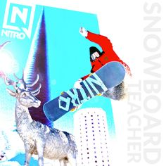 Snowboard Teacher Logo 2016