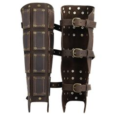 Bohemond Leather Greaves