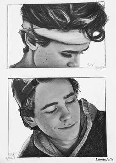 SKAM boyfriends Art Print by leoniejulie Henrik Holm Skam, Skam Wallpaper, Art Sketches, Art Drawings, Noora And William, Skam Isak, Isak & Even, What To Draw, Nerd