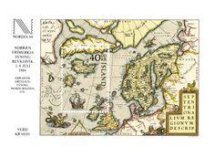 La llegada de información, año tras año, a las coronas europeas que tenían territorios de ultramar era vital para la elaboración de mapas, cada vez más fieles a la realidad. Los centros de producción cartográfica más reconocidos se ubicaron en Europa occidental. ISLANDIA, 1984 Hoja recuerdo. Mapa del norte de Europa