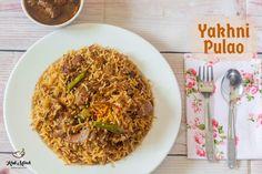 Mutton Yakhni Pulao recipe in Marathi Recipes In Marathi, Indian Food Recipes, Vegetarian Recipes, Snack Recipes, Ethnic Recipes, Paneer Makhani, Using A Pressure Cooker, Ramadan Recipes, Biryani