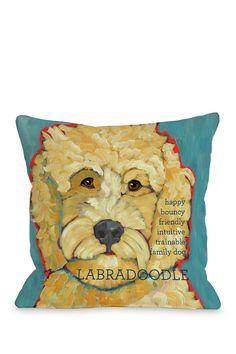 Labradoodle 1 Pillow