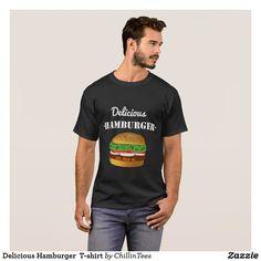 Delicious Hamburger  T-shirt