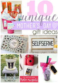 Ginger Snap Crafts: 10 Unique Mother's Day Gift Ideas