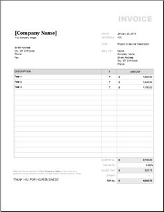 Purchase Order Invoice DOWNLOAD at http//www.templateinn