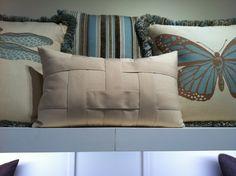 Nice Lattice Work On Pillows, Elaine Smith Outdoor Pillows