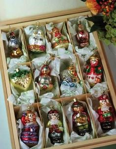 www.victoriantradingco.com - Twelve Days of Christmas Ornaments