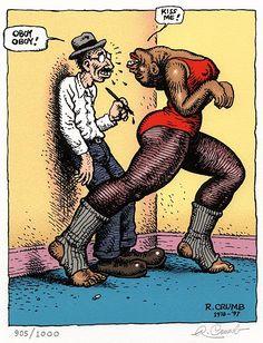 oboy #RCrumb #Crumb #RobertCrumb