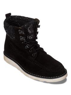 Joelle Iii - ROXY Outdoor-Lederstiefel zum Schnüren für Damen Diese Roxy Outdoor-Stiefeletten für Damen zum Schnüren präsentieren sich mit einem Obermaterial aus echtem Leder und einem Gewebefutter. Sie sind die perfekte Ergänzung zur Schuhkollektion für den Winter 2014. Außerdem verfügen sie über eine reine Gummi-Außensohle.  Merkmale: Outdoor-Lederstiefel zum Schnüren , Obermaterial aus echte...