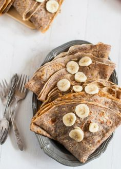 Use this recipe to make Hazelnut Crepe for a Valentine's Day breakfast.