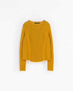 Image 6 of CROPPED RIBBED JUMPER from Zara