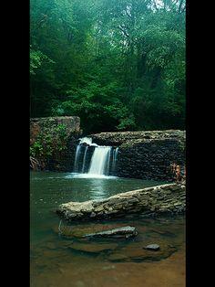 Freemans Mill spillway - Gwinnett county, Georgia Lawrenceville