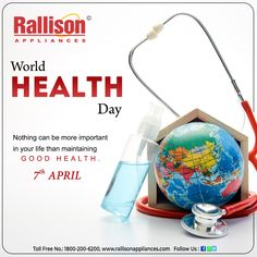 World Health Day, Cool Kitchens, Appliances, Gadgets, Accessories, Home Appliances