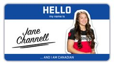 """""""Hello my name is…"""" is a series dedicated to learning more about some of Canada's top winter athletes ahead of. I Am Canadian, Olympic Team, Hello My Name Is, Winter Tops, Winter Olympics, Names, Canada, Athletes, Skeleton"""