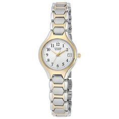 Citizen Quartz Date Two Tone Stainless Steel Bracelet Women's Watch - EU2254-51A review and best price | citizen watches For You And Her