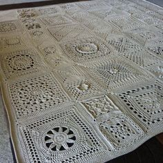 Crochet Afghan CAL - free patterns